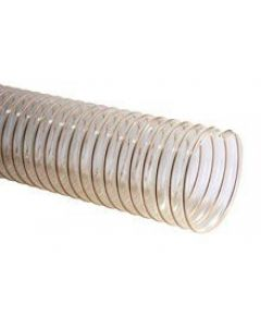 Polyurethan Flexschlauch, transparent mit Spirale Ø 80 mm