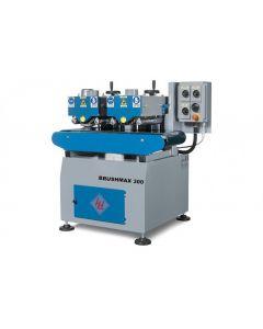 WINTER Bürstenmaschine RUSTOMAX - 300 mit zwei Bürsteneinheiten