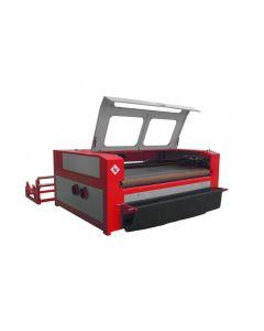 WINTER Leder- und Textil Laserschneid Maschine LASERMAX MAXI 1610 - 80 W DOUBLE-HEAD