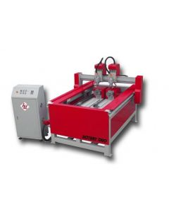 WINTER CNC Gravier- und Fräsmaschinen ROUTERMAX 1118 ROTARY DUO