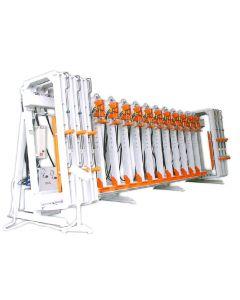 WINTER Block- und Lamellierverleimpresse Typ UL 6200/200